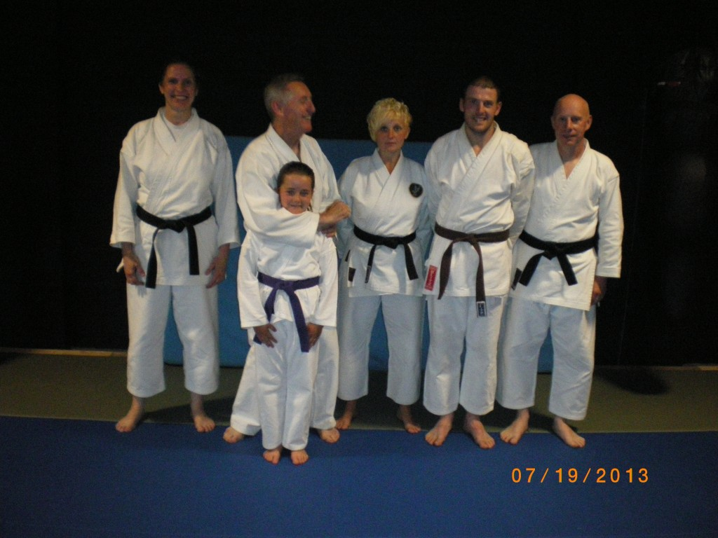 Brown belt grade 19.7.13